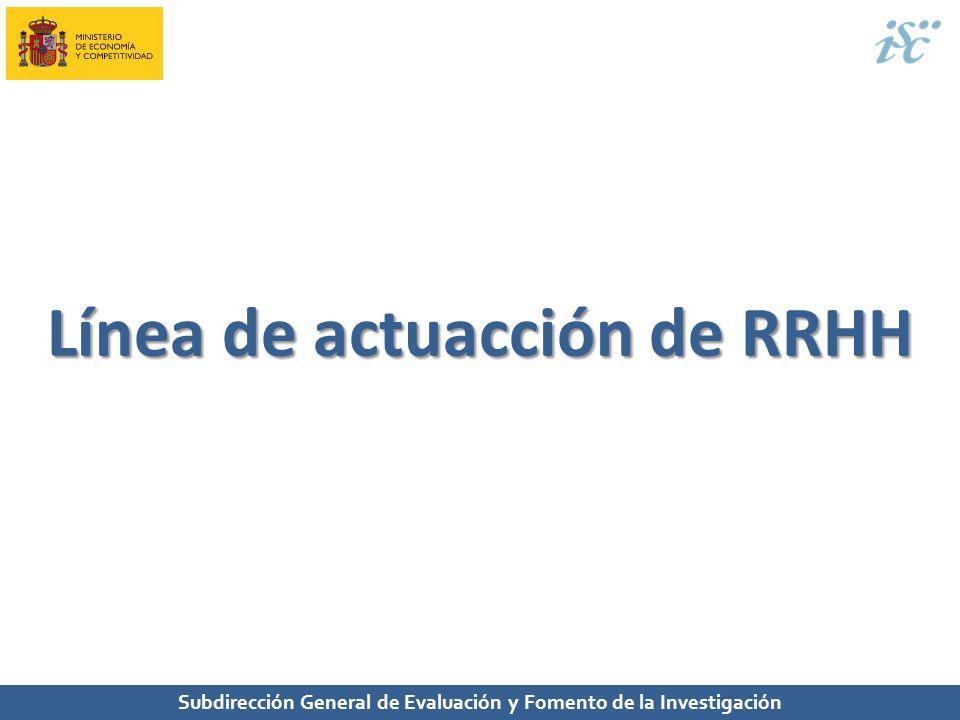 Línea de actuacción de RRHH