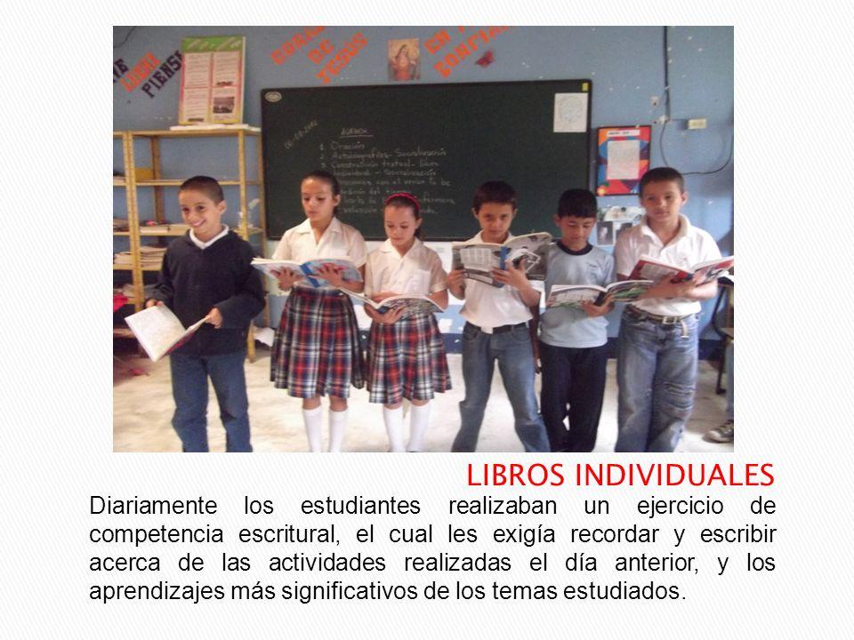 LIBROS INDIVIDUALES