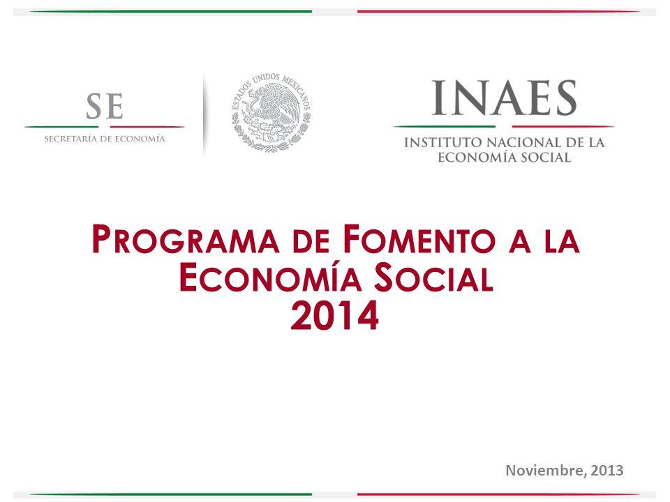 Programa de Fomento a la Economía Social
