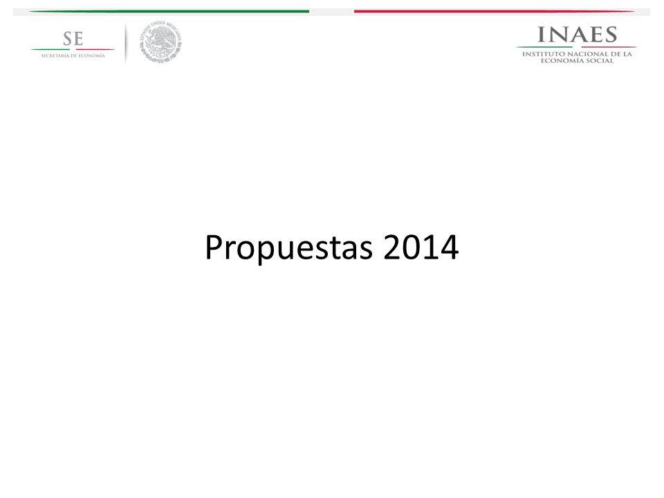 Propuestas 2014