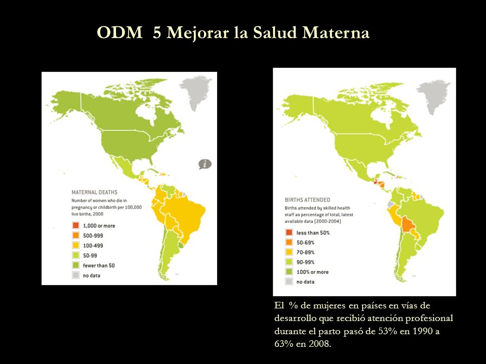 ODM 5 Mejorar la Salud Materna