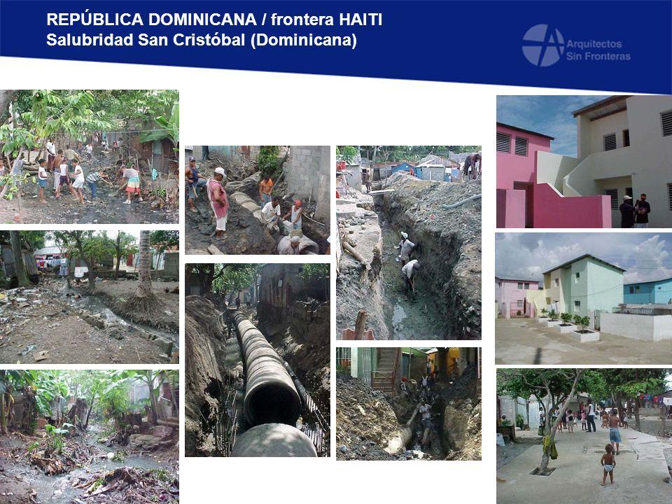 REPÚBLICA DOMINICANA / frontera HAITI