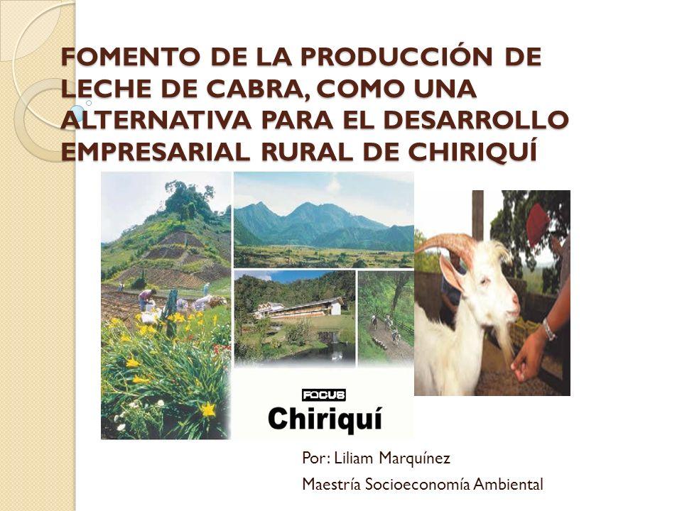 Por: Liliam Marquínez Maestría Socioeconomía Ambiental