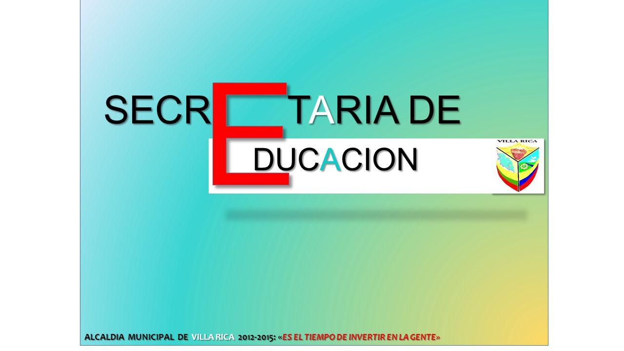 E SECR TARIA DE DUCACION