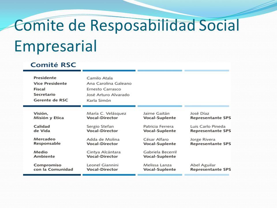 Comite de Resposabilidad Social Empresarial