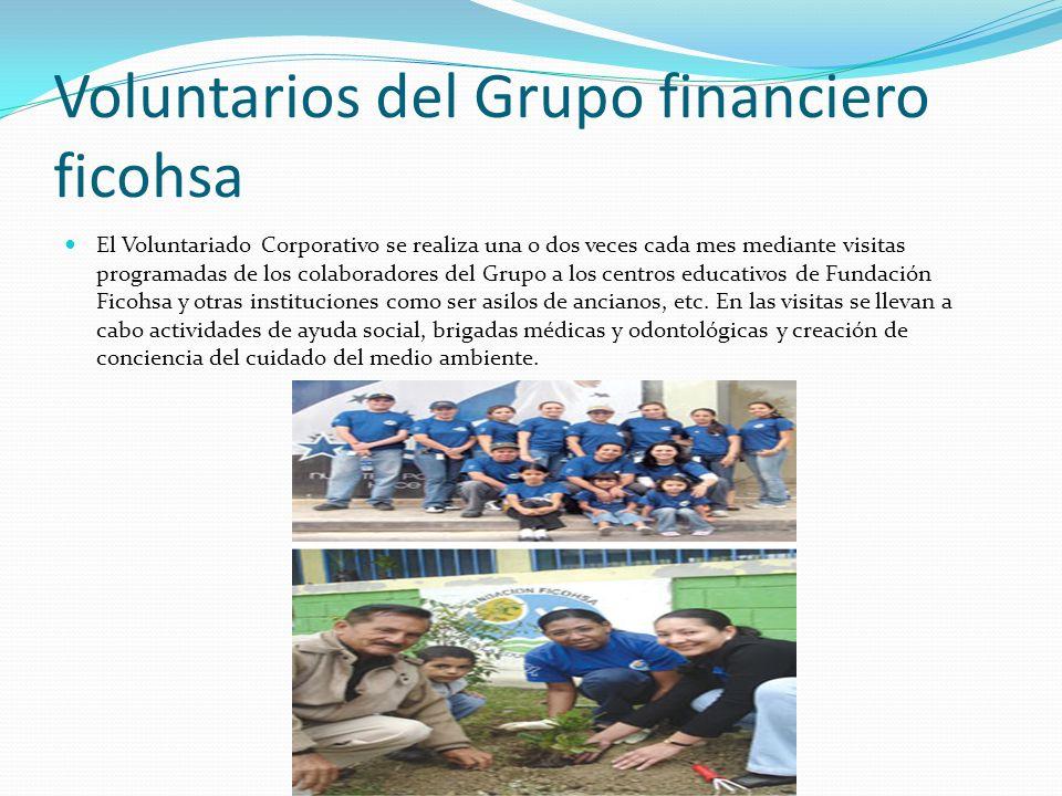 Voluntarios del Grupo financiero ficohsa