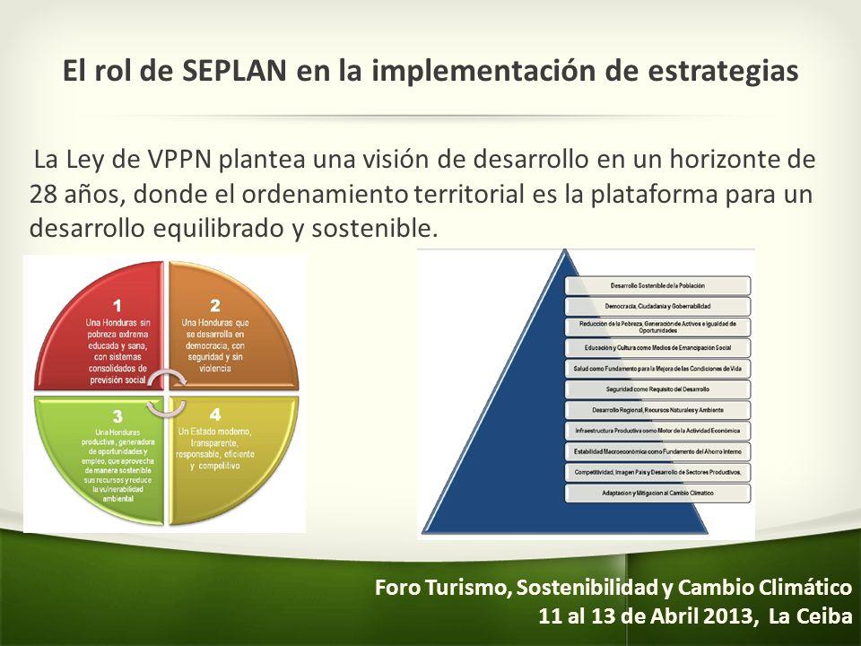 El rol de SEPLAN en la implementación de estrategias