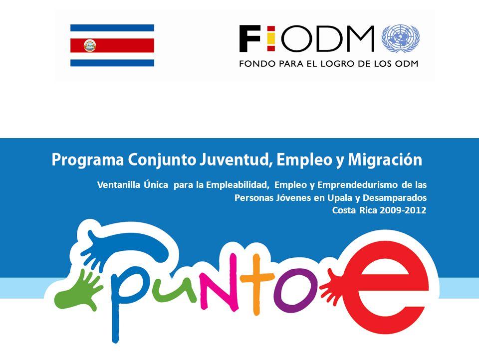 Ventanilla Única para la Empleabilidad, Empleo y Emprendedurismo de las Personas Jóvenes en Upala y Desamparados