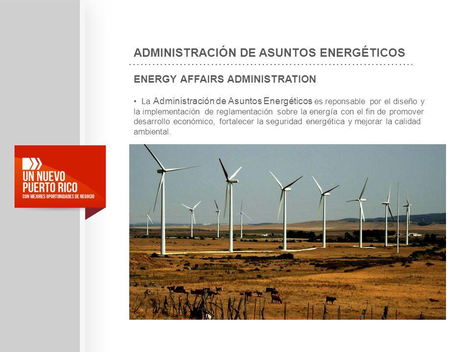 ADMINISTRACIÓN DE ASUNTOS ENERGÉTICOS
