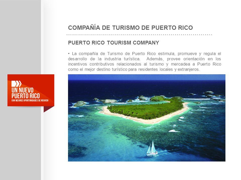 COMPAÑÍA DE TURISMO DE PUERTO RICO