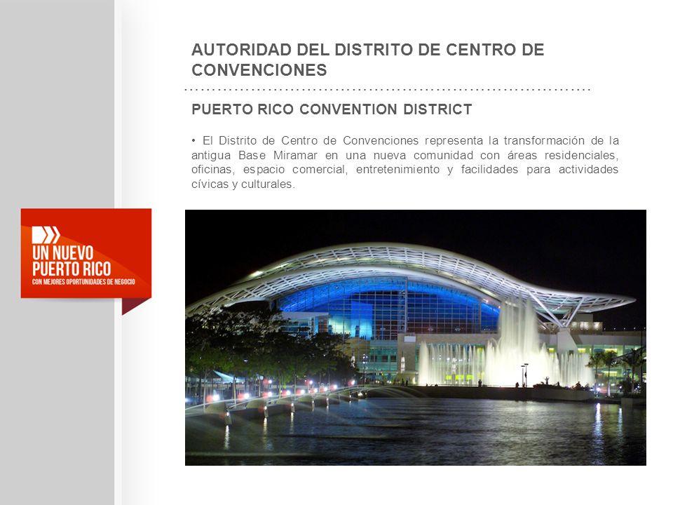 AUTORIDAD DEL DISTRITO DE CENTRO DE CONVENCIONES