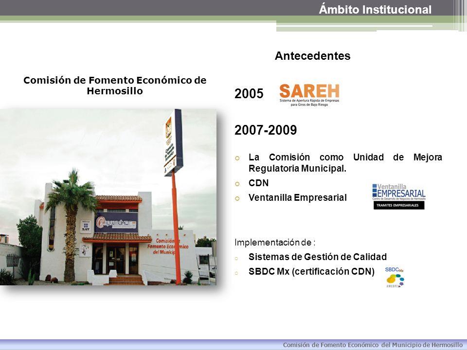 Comisión de Fomento Económico de Hermosillo