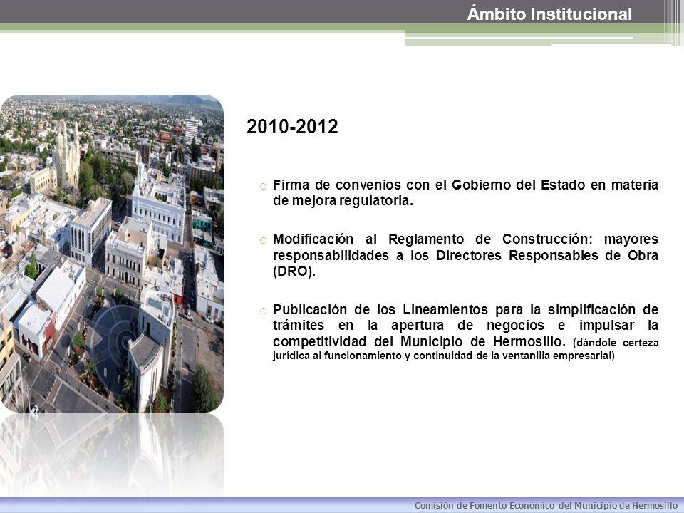 2010-2012 Ámbito Institucional