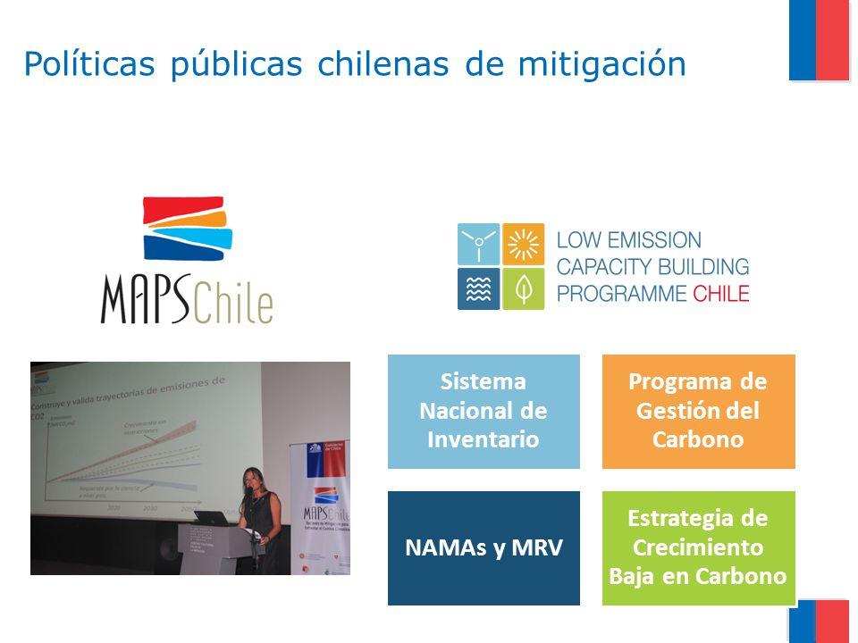 Políticas públicas chilenas de mitigación