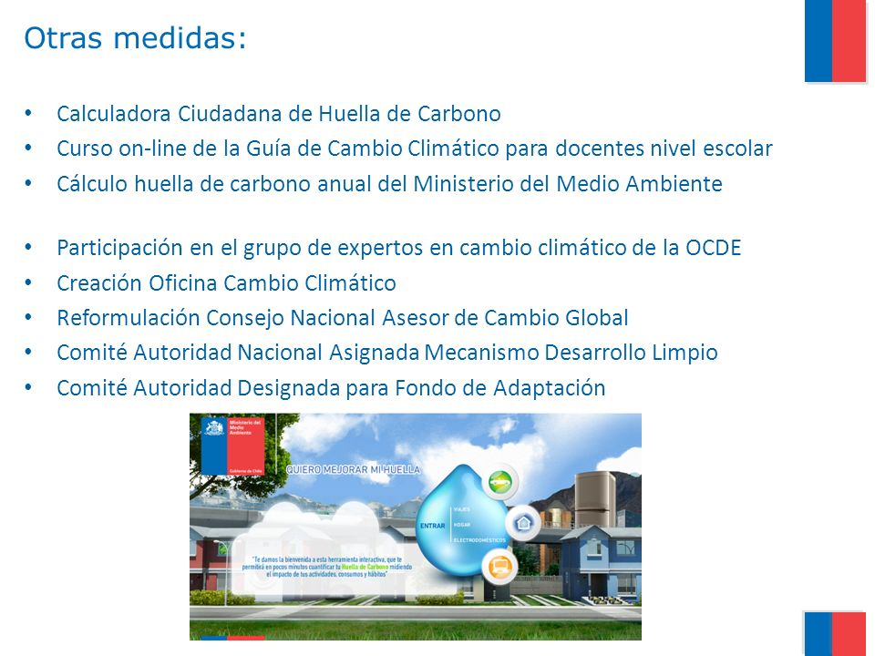 Otras medidas: Calculadora Ciudadana de Huella de Carbono