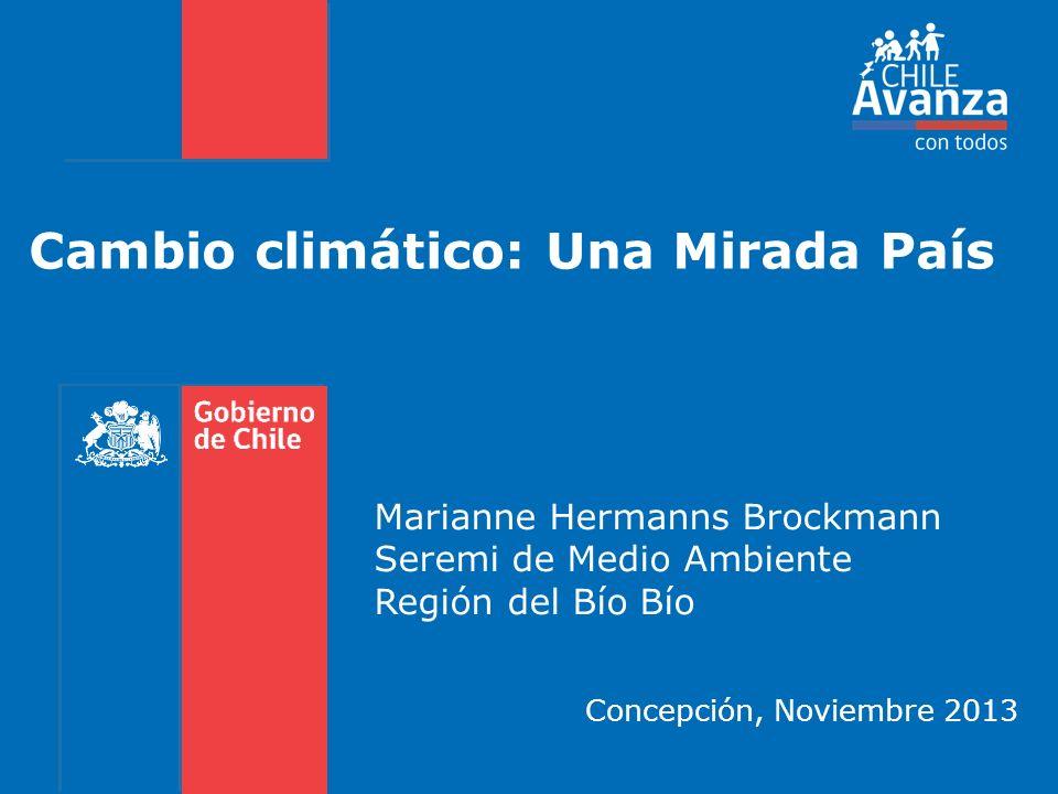 Cambio climático: Una Mirada País