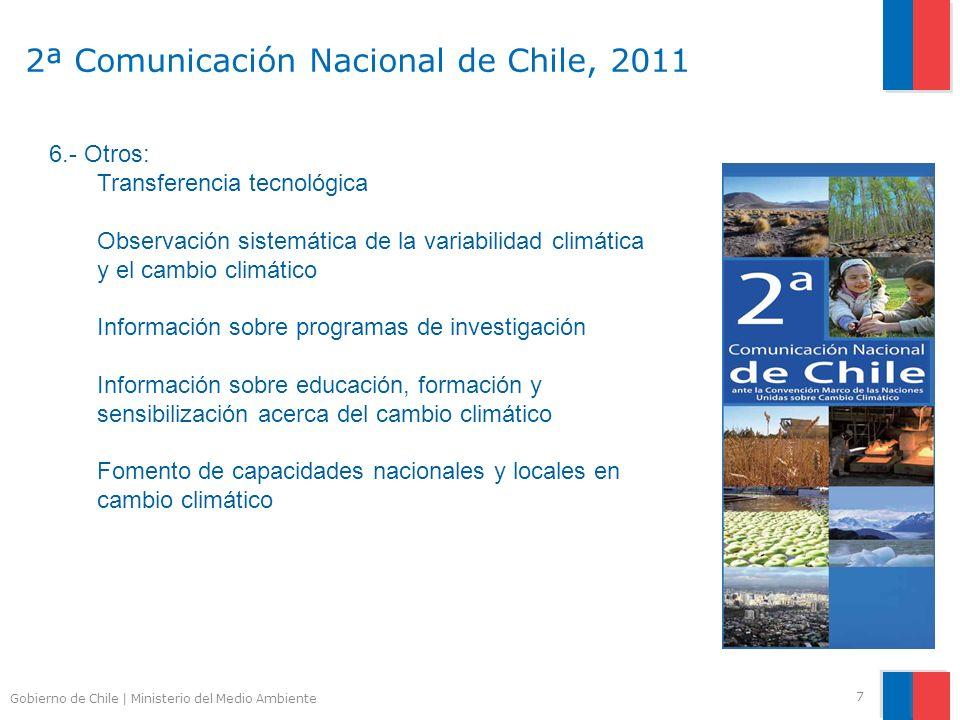 2ª Comunicación Nacional de Chile, 2011