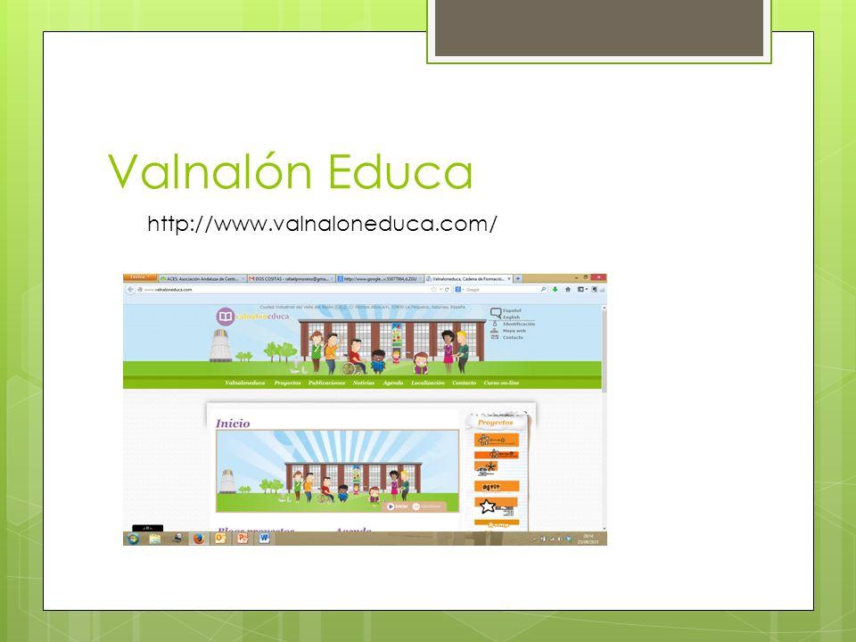 Valnalón Educa http://www.valnaloneduca.com/