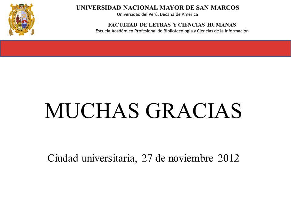 Ciudad universitaria, 27 de noviembre 2012