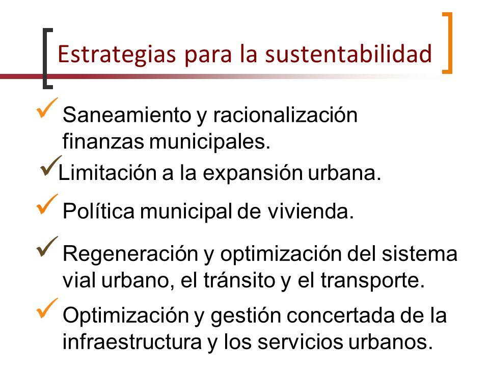 Estrategias para la sustentabilidad