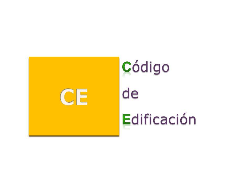 CE Código de Edificación