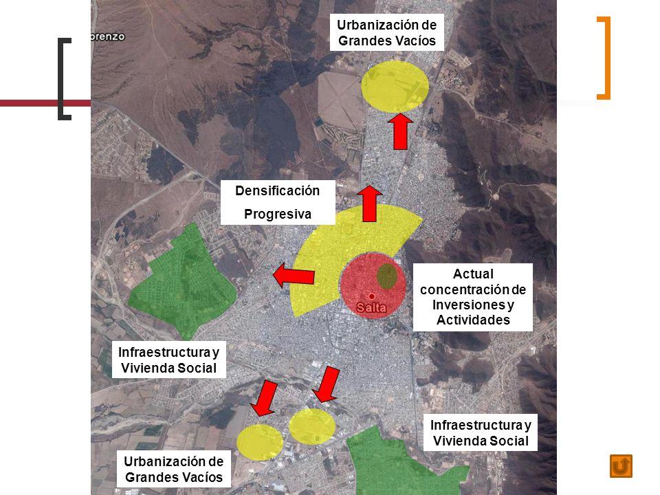 Urbanización de Grandes Vacíos