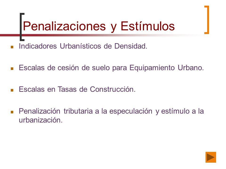 Penalizaciones y Estímulos