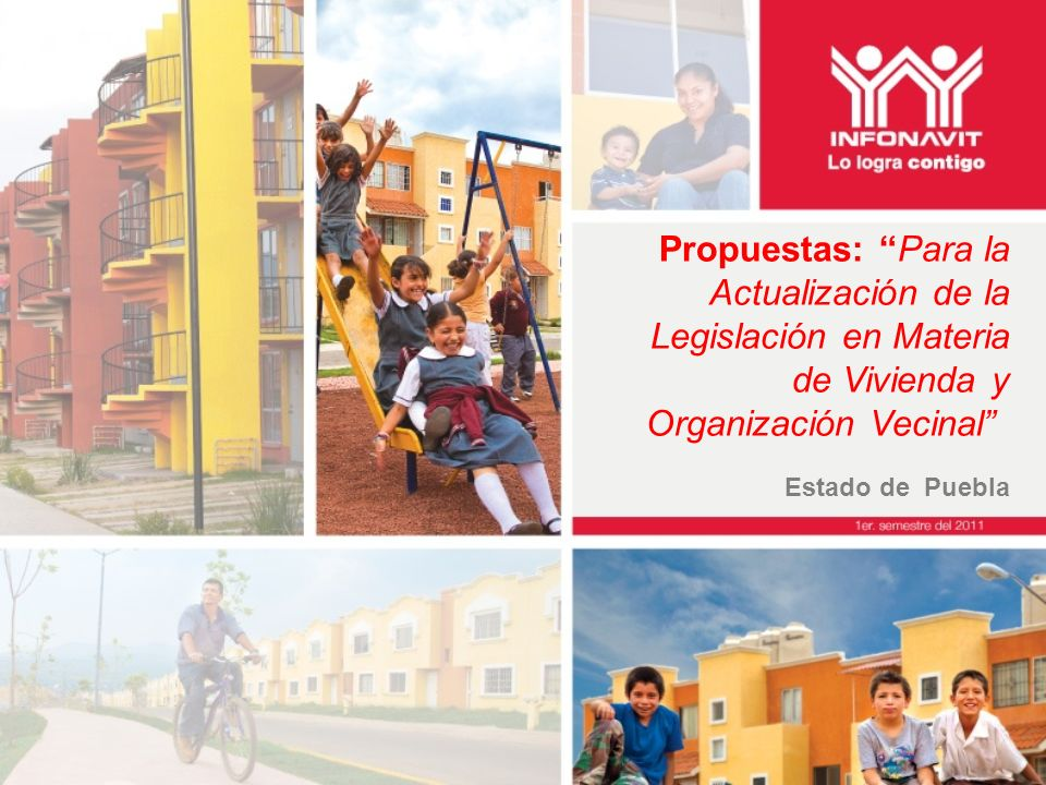 Propuestas: Para la Actualización de la Legislación en Materia de Vivienda y Organización Vecinal