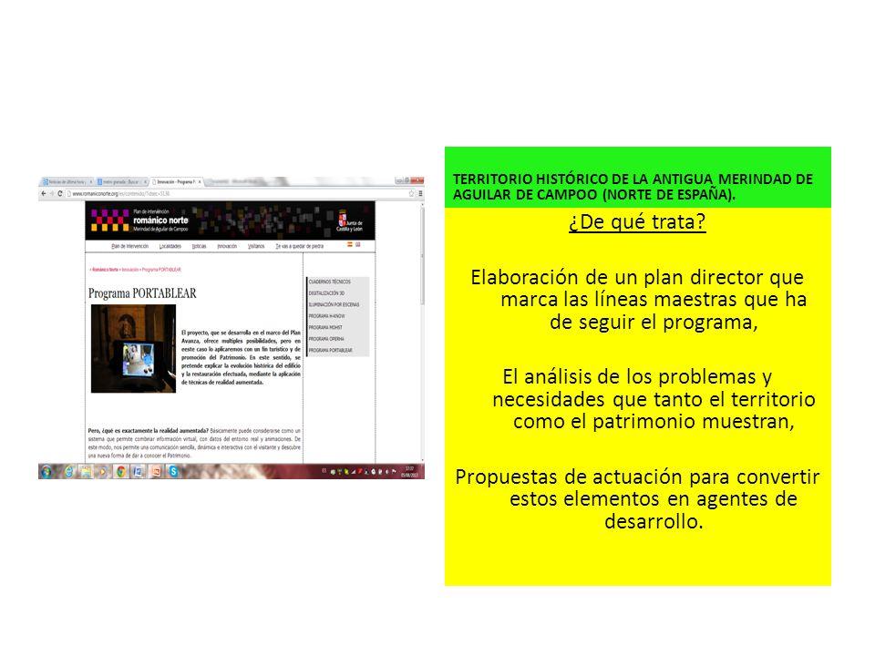 TERRITORIO HISTÓRICO DE LA ANTIGUA MERINDAD DE AGUILAR DE CAMPOO (NORTE DE ESPAÑA).