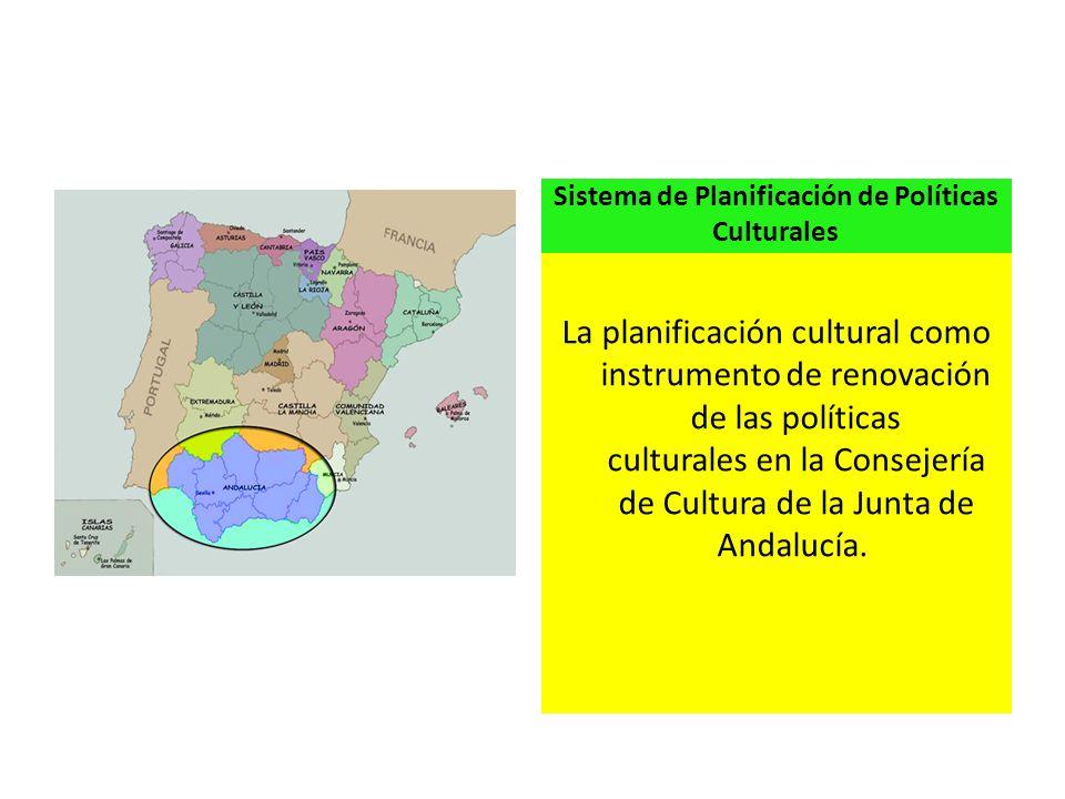 Sistema de Planificación de Políticas Culturales