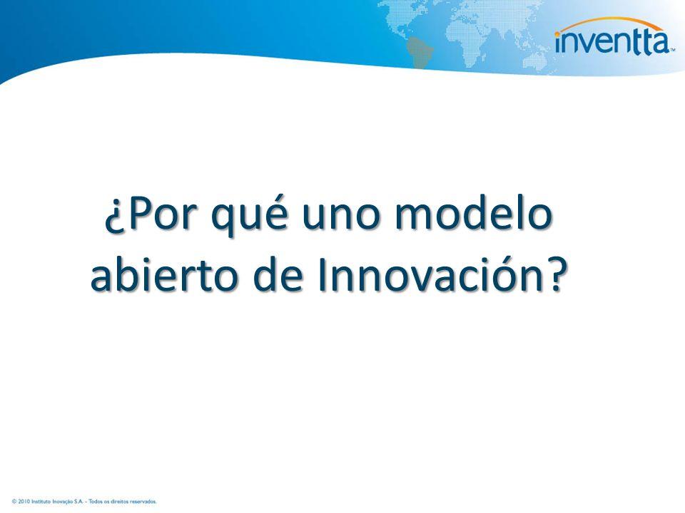 ¿Por qué uno modelo abierto de Innovación