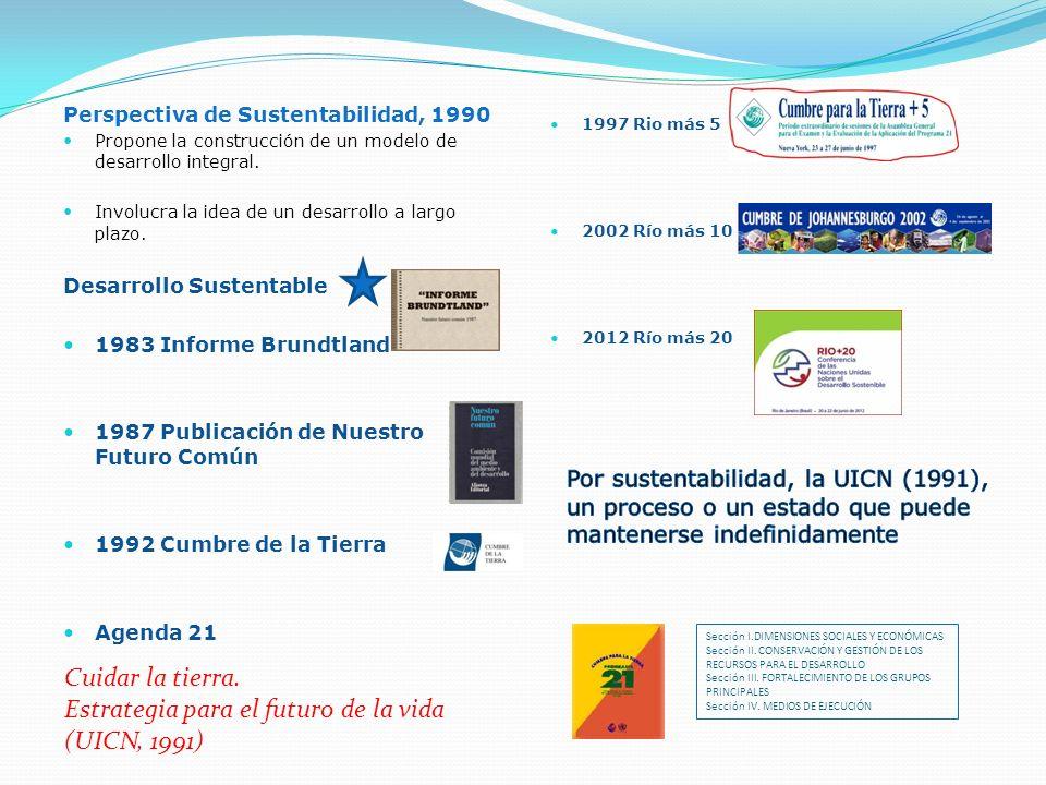 Estrategia para el futuro de la vida (UICN, 1991)