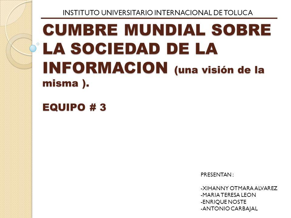 INSTITUTO UNIVERSITARIO INTERNACIONAL DE TOLUCA