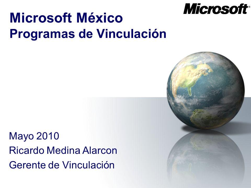 Microsoft México Programas de Vinculación