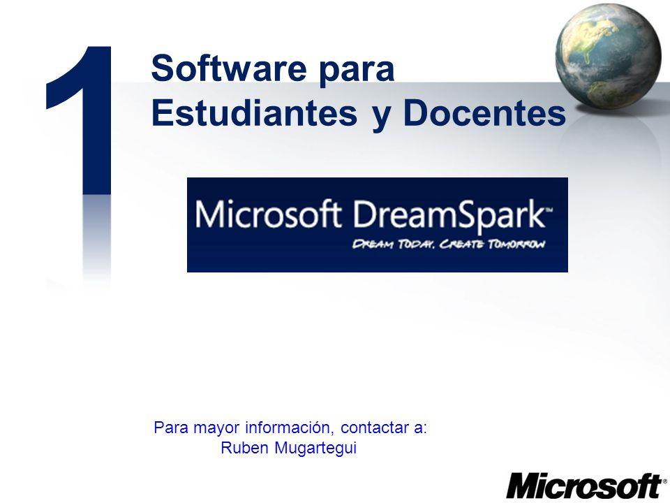 1 Software para Estudiantes y Docentes