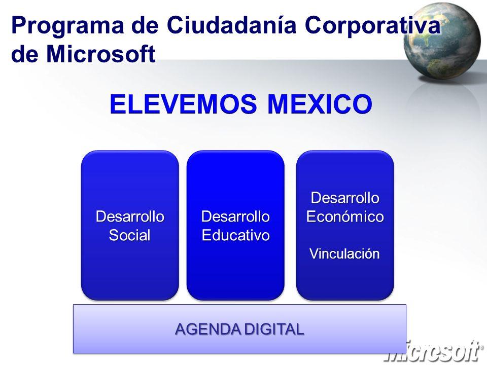 Programa de Ciudadanía Corporativa de Microsoft