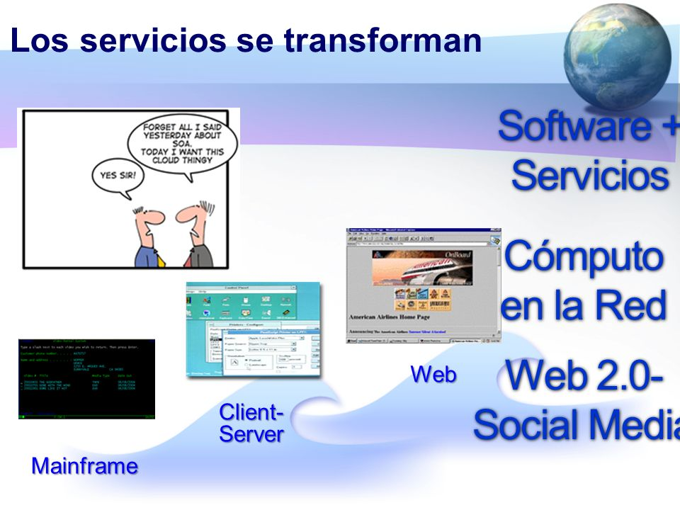 Los servicios se transforman