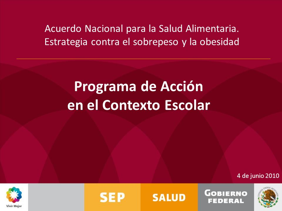 Programa de Acción en el Contexto Escolar