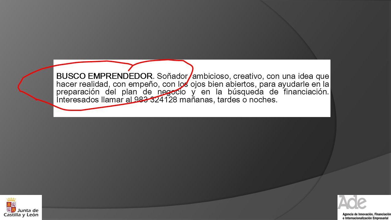 BUSCO EMPRENDEDOR.