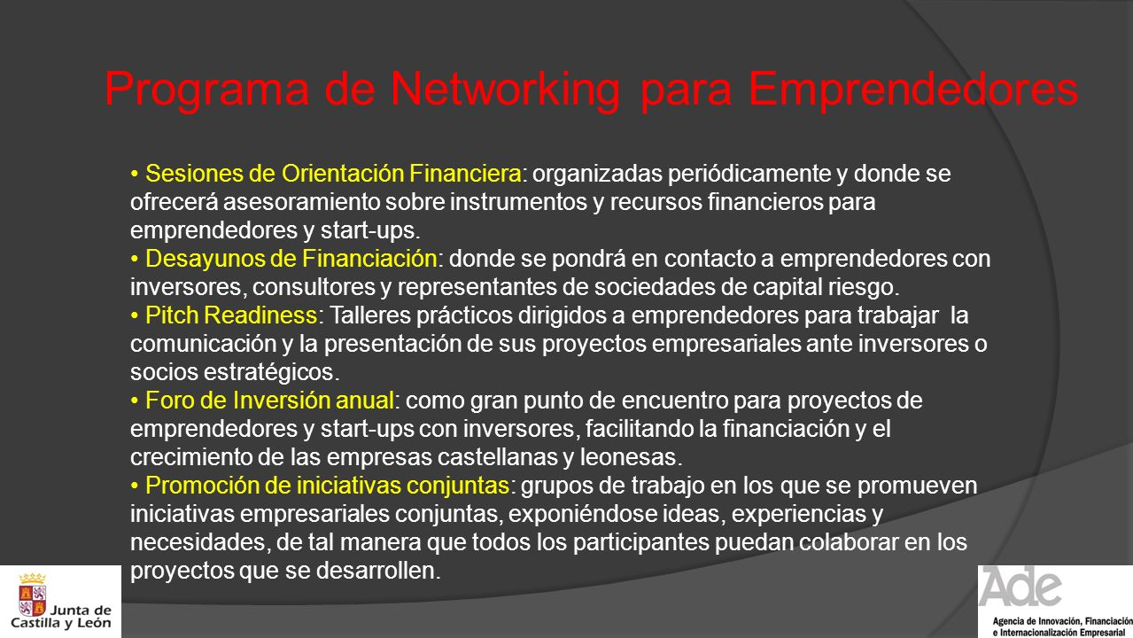 Programa de Networking para Emprendedores