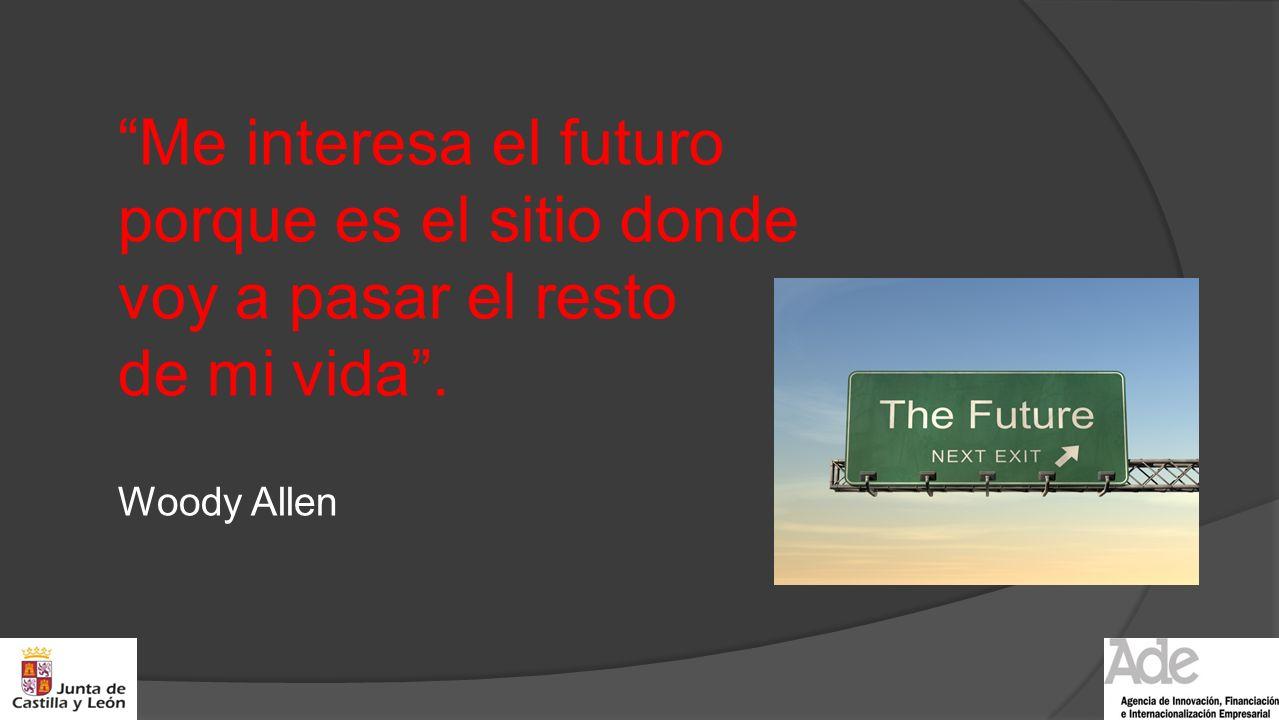 Me interesa el futuro porque es el sitio donde voy a pasar el resto de mi vida .