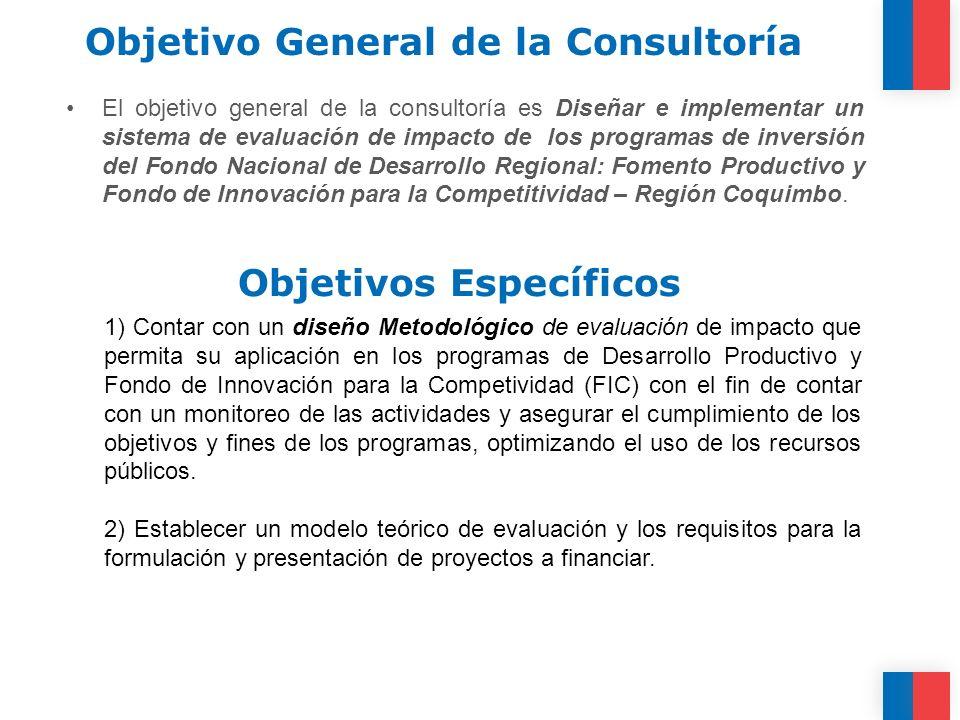 Objetivo General de la Consultoría