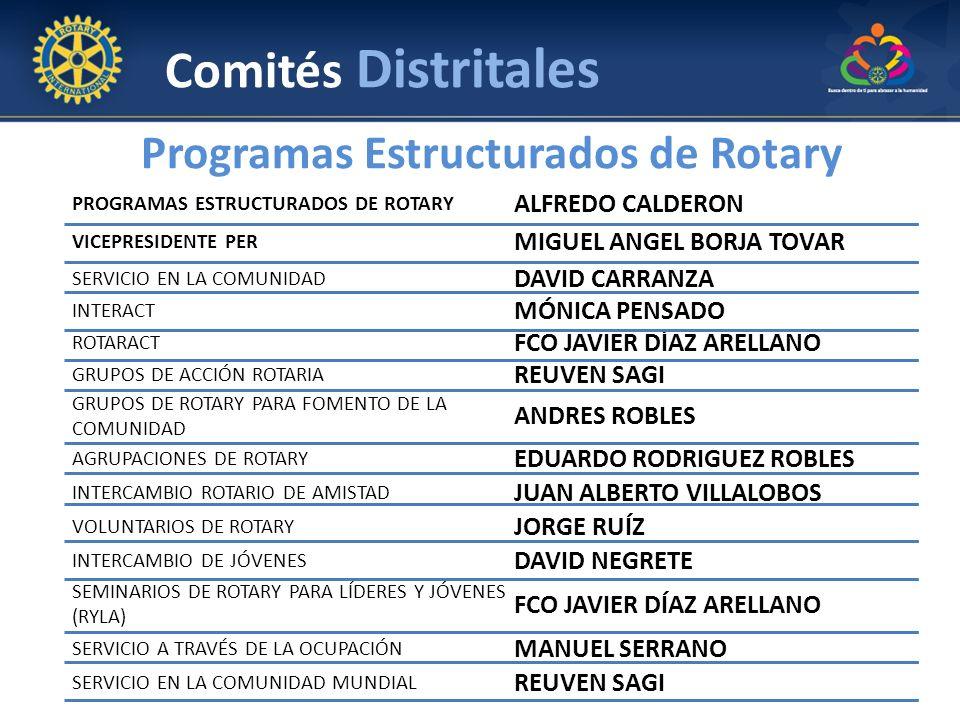 Programas Estructurados de Rotary