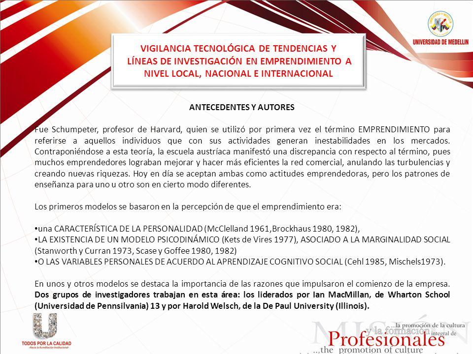 VIGILANCIA TECNOLÓGICA DE TENDENCIAS Y
