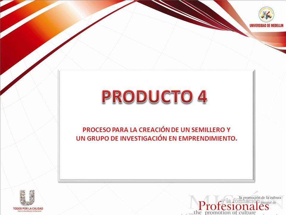 PRODUCTO 4 PROCESO PARA LA CREACIÓN DE UN SEMILLERO Y