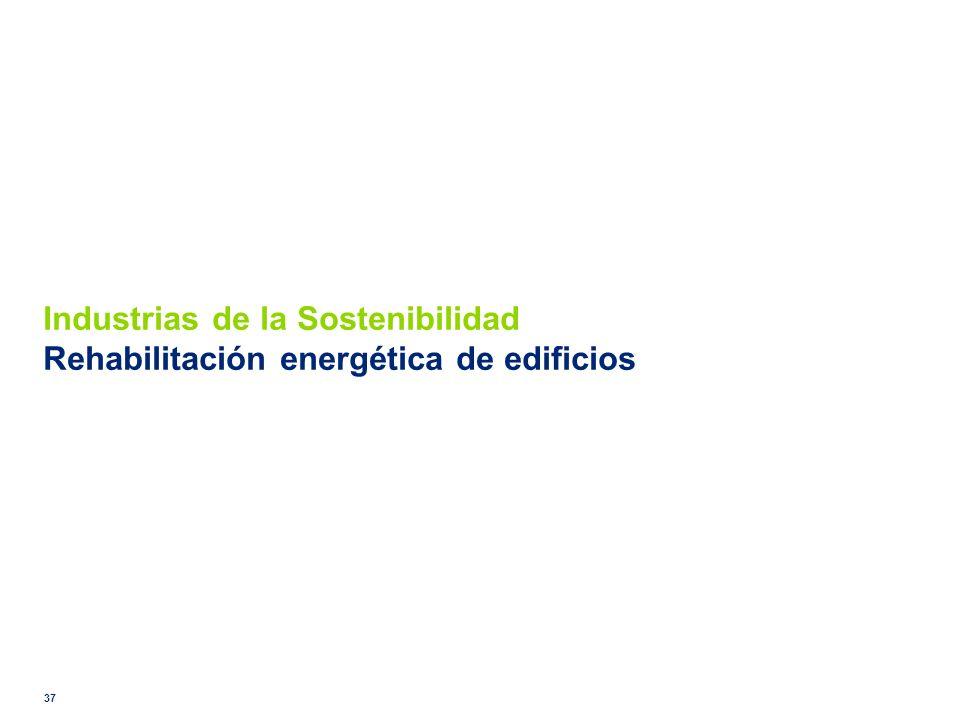 Industrias de la Sostenibilidad Rehabilitación energética de edificios