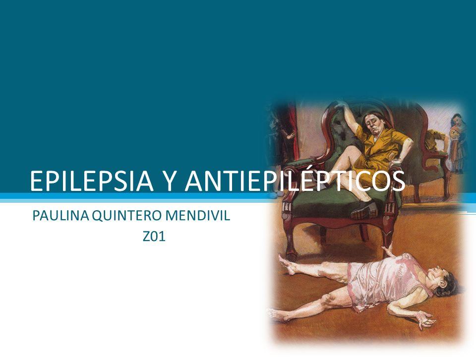 EPILEPSIA Y ANTIEPILÉPTICOS