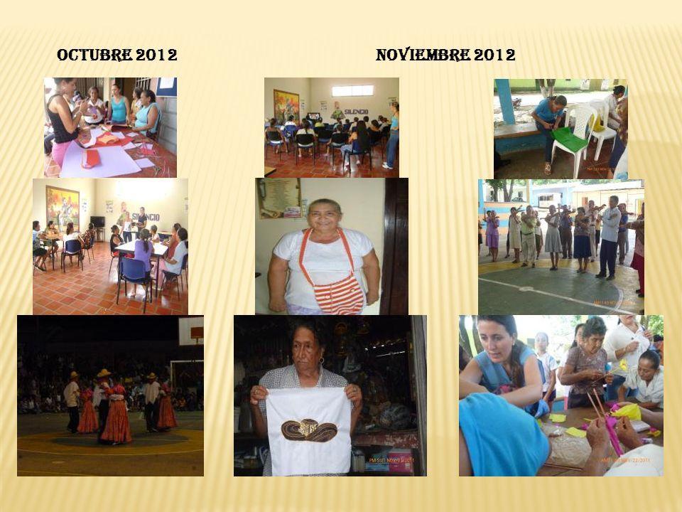 OCTUBRE 2012 NOVIEMBRE 2012