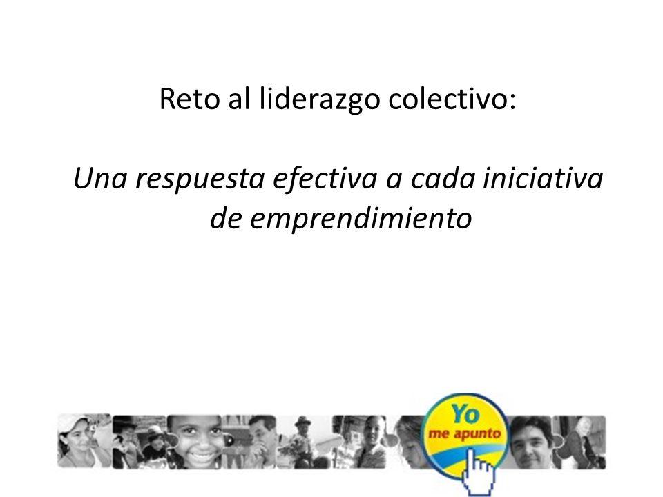 Reto al liderazgo colectivo: Una respuesta efectiva a cada iniciativa