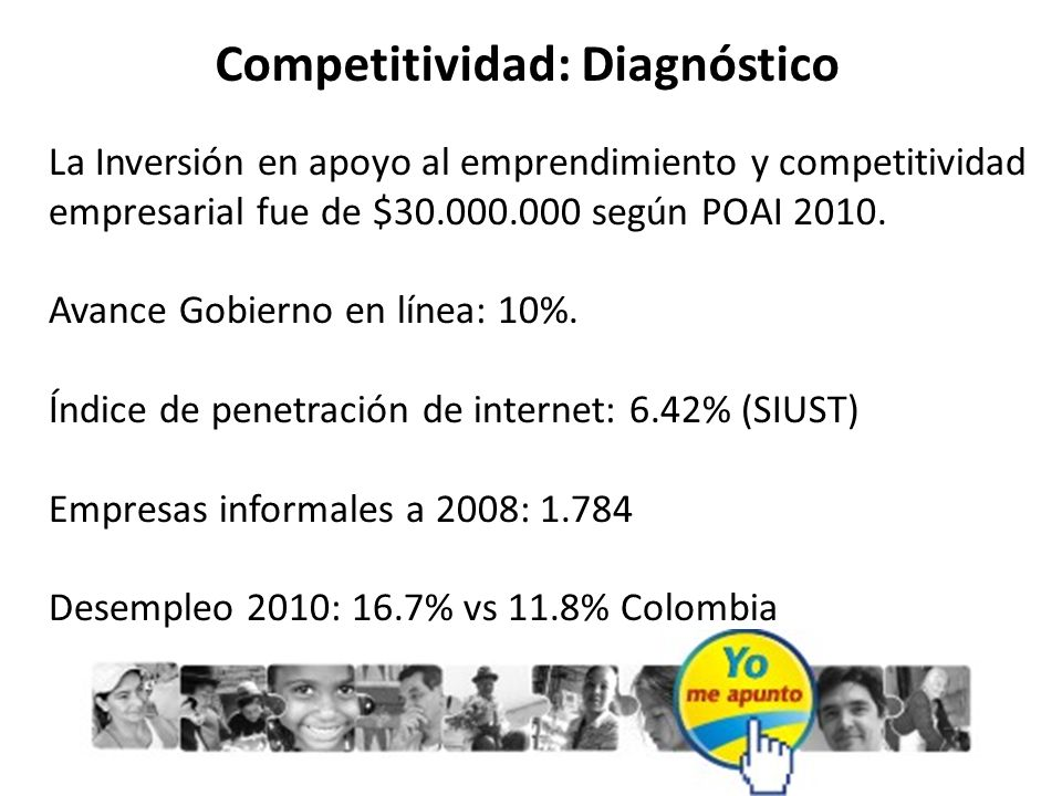 Competitividad: Diagnóstico